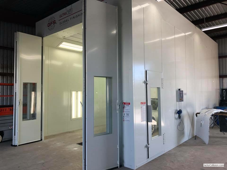 Custom Made Paint Booth